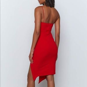Red Dress from Beginning Boutique